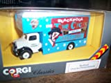 CORGI CLASSICS 1/50 SCALE DIECAST MODEL - BEDFORD 0 SERIES PANTECHNICON LORRY - BLACKPOOL TOWER CIRCUS 1961 - CHARLIE CAIROLI