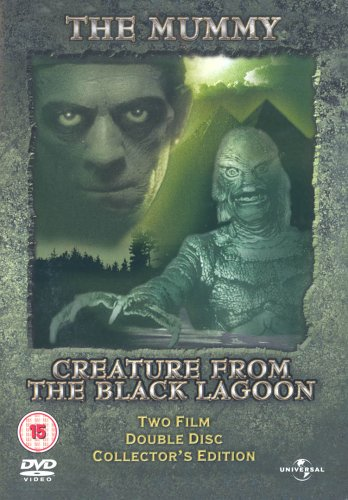 The Mummy/Creature From The Black Lagoon [DVD]