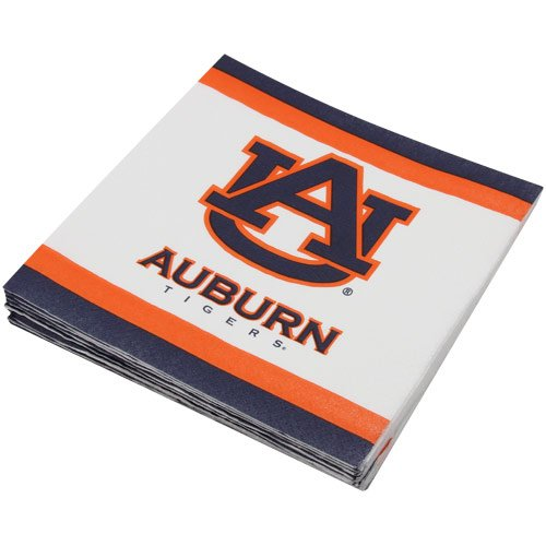 Mayflower Distributing Company 20 Count Auburn Lunch Napkin, Multicolor