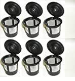 6 x Solo Coffee Pod Filters Compatible with Keurig K cup coffee system--Reusable Coffee Filter