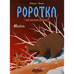 Popotka le petit sioux, Tome 2 : Mahto