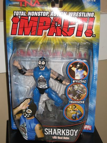 Wwe Toys For Boys : Amazon tna wrestling series action figure sharkboy