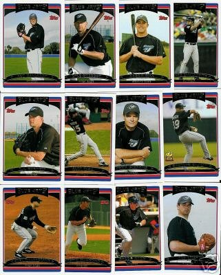 Buy 2006 Topps Toronto Blue Jays Baseball Cards Complete Team Set (25 cards)