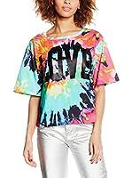 Love Moschino Camiseta Manga Corta (Multicolor)
