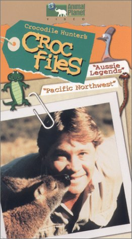 Crocodile Hunter's Croc Files - Aussie Legends/Pacific Northwest [VHS]
