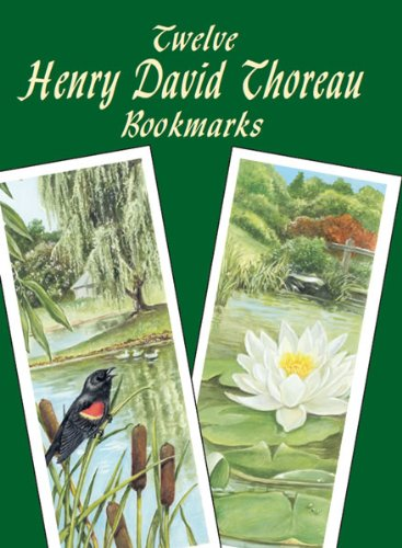 Twelve Henry David Thoreau Bookmarks (Dover Bookmarks)