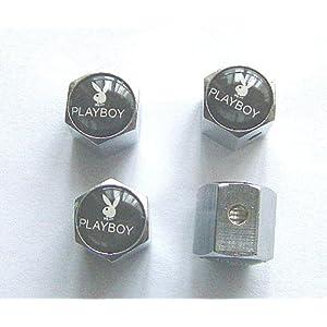 Playerboy Anti-theft Car Wheel Tire Valve Stem Caps