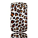Textured Leopard Animal Print Back Case Cover For BlackBerry Bold 9780 By Give Me A Chanceby Give Me A Chance