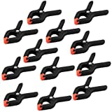PhotoSEL CL135SC 35mm Grip Size Photography Clamp for Background Support and Backdrop (Set of 12)