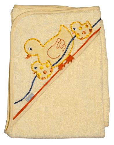 "Extra Large 40""x30"" Absorbent Hooded Towel, Ducks, Frenchie Mini Couture"