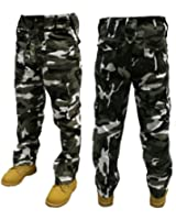 """Adults Camo Army Cargo Combat Trousers - 12 DIFFERENT CAMO PATTERNS! 30""""-50"""" MUST SEE!"""