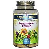 Nature's Herbs, Fenugreek-Thyme, 100 Capsules