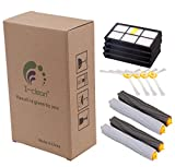 I-clean Replacement Accessories Kit for iRobot Roomba 880 870 900, including 4Hepa Filter, 4Side Brush, 2Tangle-Free Debris Extractor