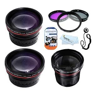 Butterfly Fisheye Lens Kit For Nikon D3200 D3100 D5100 D800 DSLR Camera