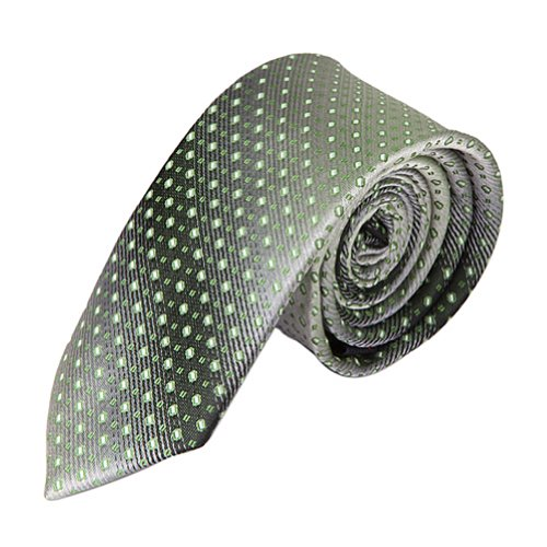 HDE Fading Green Pattern Necktie Forest Kelly