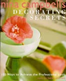 img - for Nina Campbell's Decorating Secrets: 100 Ways to Achieve the Professional Look book / textbook / text book