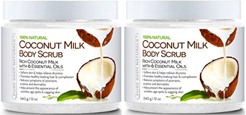 Pure-Body-Naturals-Coconut-Milk-Body-Scrub-with-Dead-Sea-Salt-Almond-Oil-and-Vitamin-E-for-All-Skin-Type-12-oz