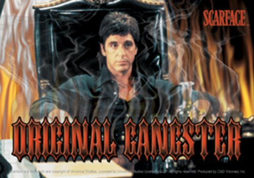Licenses Products Scarface Original Gangster Sticker