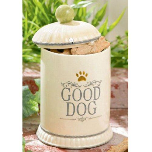 Furry Friends Ceramic Good Dog Treat Cookie Jar