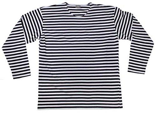 Russisches-Marine-T-Shirt-langarm-Longsleeve-blau-weiss-S-XXXL-XLblau-weiss