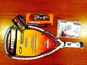 Buy Ektelon O3 White Racquetball Racquet by Ektelon