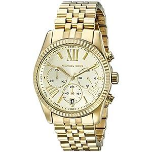 Michael Kors Women's MK5556 Lexington Analog Display Analog Quartz Gold Watch