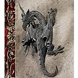 Design Toscano PD1376 Horned Dragon of Devonshire Wall Sculpture