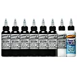 Eternal tattoo ink sets - Pick your choice (100% authentic) (Marshall Bennett Gray Wash Set) (Tamaño: Marshall Bennett Gray Wash Set- 1 oz)