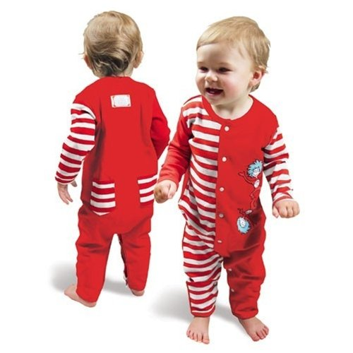 dr seuss baby clothes Dr Seuss Thing e and Two Red and