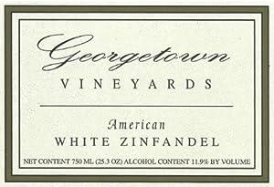 NV Georgetown Vineyards American White Zinfandel 750 mL