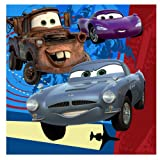 Lets Party By Hallmark Disney's Cars 2 Lunch Napkins
