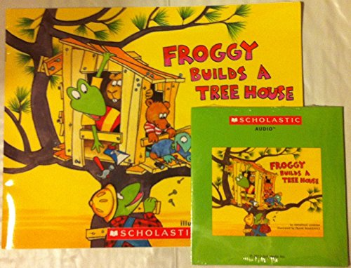 Froggy Builds A Tree House Book and Audio CD (Froggy Builds A Tree House compare prices)