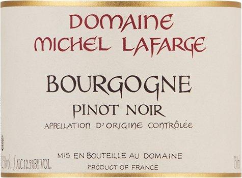 2009 Michel Lafarge Bourgogne Pinot Noir Burgundy 750 Ml