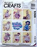 McCall's Crafts 6368 Clothes Pattern for Water Babies Doll