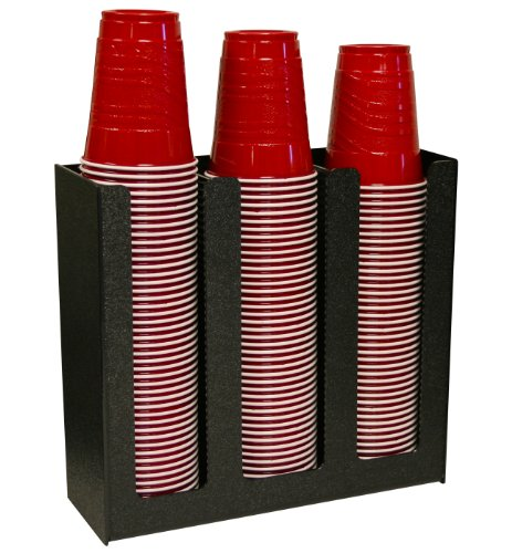 Coffee Cup Dispenser Or Lid Holder. Holds 12 Oz,16, 20 Or 24Oz And One Size Lid Fits All. Proudly Made In The Usa ! & Made By Ppm.