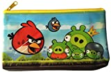 Angry Birds Waterproof Zipper top Pouch Pen Pencil case, Stationery bag