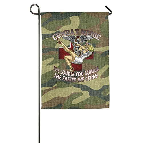 weqofge-army-combat-medic-the-louder-you-scream-garden-flag