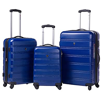 BTM ABS Hard shell Cablin Travel Trolley Suitcase 4 wheel Luggage set Hand Luggage