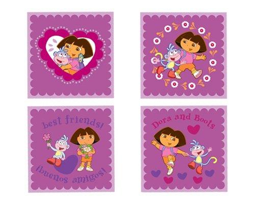 Nickelodeon Dora Best Friends Peel And Stick Wall Art