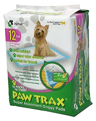 Paw Trax Super Absorbent Training Pads