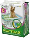 Paw Trax Super Absorbent Training Pads, 12 Pack