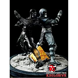 Noob Saibot and Shadow Clone Mortal Kombat Exclusive Statue