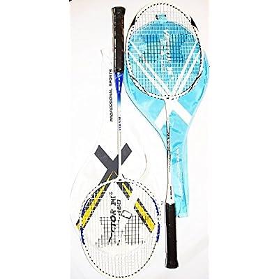 Vector X VXB-510/520 Badminton Racquet for Senior & Junior level Set of 2