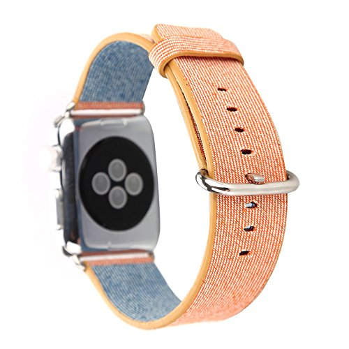 Apple,Watch,Band,Nylon,Febite Latest Fine Woven Nylon Replacement Wrist Band Strap Classic Watchband