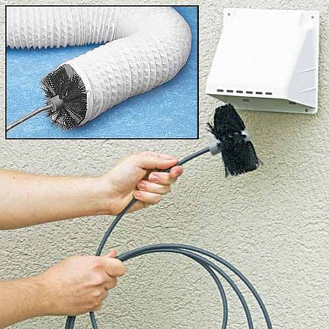 Dryer Vent Cleaning Brush