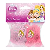 Disney Princesses Aurora Loom Bands and Charm Pack (200 Bands, 6 Clips and 1 Charm)