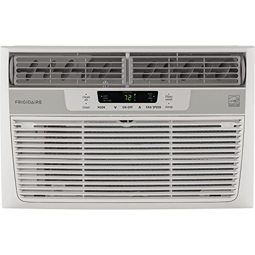 Frigidaire 6,000 BTU 115V Window-Mounted Mini-Snug Air Conditioner with Full-Function Remote Control
