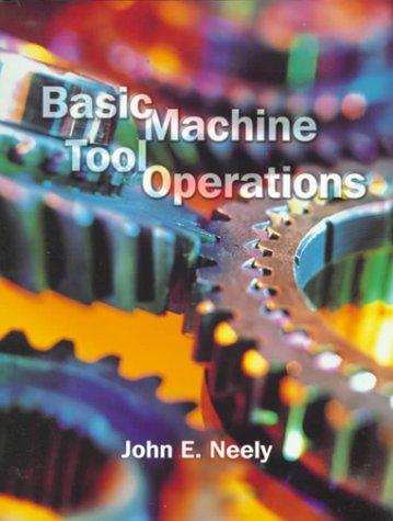 Basic Machine Tool Operations