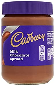 Cadbury Milk Chocolate Spread 400 g (Pack of 6)