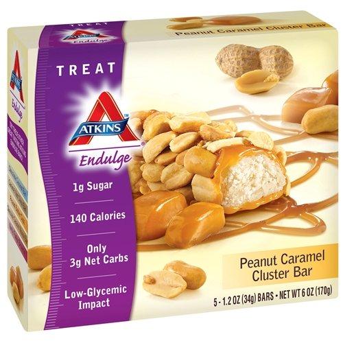 Atkins Endulge Bar 5 Bars Peanut Caramel Cluster